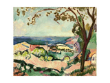 Collioure Landscape, 1906 ジクレープリント : アンリ・マティス