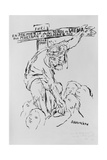 'In Memory of the Children of Europe Who Have to Die of Cold and Hunger This Christmas', 1945 Giclee Print by Oskar Kokoschka