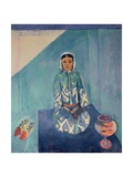 On the Terrace, 1912-13 Giclee Print by Henri Matisse