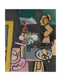 Still Life with a Plaster Bust, 1916 Giclee Print by Henri Matisse