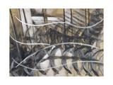 Lines of Movement and Dynamic Succession, 1913 Giclée-trykk av Giacomo Balla
