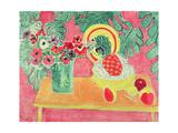 Pineapple and Anemones, 1940 Giclée-trykk av Henri Matisse