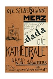 Cover of 'Die Kathedrale' by Kurt Schwitters, Published c.1920 Impressão giclée por Kurt Schwitters