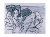 The Sick Child, 1917 Giclee Print by Oskar Kokoschka