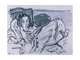 The Sick Child, 1917 Giclee Print by Oskar Kokoschka