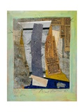 Blue Line, 1947 Giclee Print by Kurt Schwitters