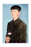 Self Portrait, 1912 Giclée-Druck von Otto Dix