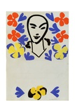 The Sculpture of Henri Matisse, Poster Design Giclée-trykk av Henri Matisse