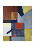 Abstract Composition; Abstrakte Komposition, 1923-1924 Giclée-trykk av Kurt Schwitters