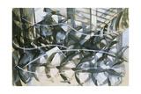 Flight of the Swallows, 1913 Impression giclée par Giacomo Balla