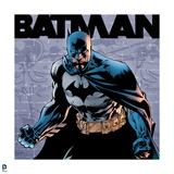 Batman: Close Up of Batman Scowling Prints