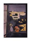 Landscape Viewed from a Window, 1913 Giclée-trykk av Henri Matisse