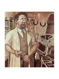Portrait of Dr. Hans Koch, 1921 Giclée-Druck von Otto Dix