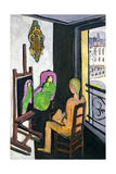 The Painter and His Model, 1917 Giclee Print by Henri Matisse