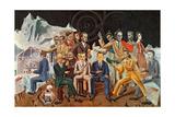 Au Rendez-Vous Des Amis, 1922 Stampa giclée di Max Ernst