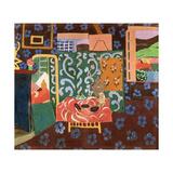 Interior with Aubergines, 1911 Giclée-trykk av Henri Matisse