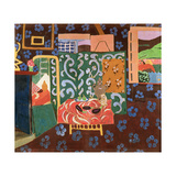 Interior with Aubergines, 1911 Giclee Print by Henri Matisse