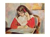 The Reader, Marguerite Matisse, 1906 Giclée-trykk av Henri Matisse