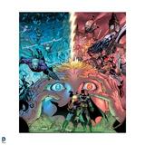 Justice League: Flash Divided - with Batman, Aquaman and Wonder Woman Prints