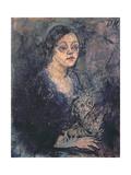 Else Kupfer, 1911 Giclee Print by Oskar Kokoschka
