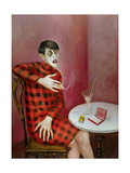 Portrait of the Journalist Sylvia Von Harden (1894-1963) 1926 Giclee Print by Otto Dix