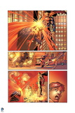 Superman: Superman Attacking Villian with Laser Eyes Posters