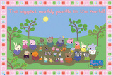 Peppa Pig -Muddy Puddle Stampa