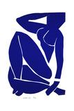 Blue Nude III, 1952 ジクレープリント : アンリ・マティス