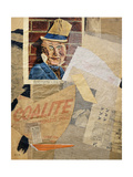 W.C. Fields Giclee Print by Kurt Schwitters