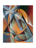 Planet Mercury Passing in Front of the Sun, 1914 Giclee Print by Giacomo Balla