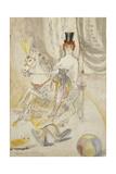 Circus Scene; Zirkusszene, 1923 Giclée-Druck von Otto Dix