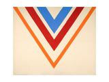 Celestalert, 1964 Giclee Print by Kenneth Noland