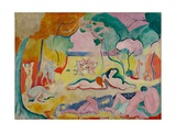 The Joy of Life, 1905-06 Giclée-trykk av Henri Matisse