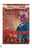 Batman: Carnival Style Poster of Two Face Carnival of Criminals Art