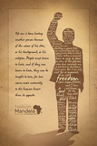 Nelson Mandela - Silhouette Prints