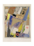 Mr. Churchill Is 71, 1947 Giclee Print by Kurt Schwitters