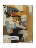 Players 'Medium' Navy Cut, 1935 Giclee Print by Kurt Schwitters