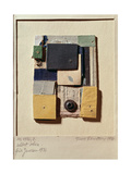 Collage, 1936 Giclee Print by Kurt Schwitters