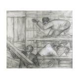 Sketch for a Mural in the Dresden Hygiene Museum, 1930 Giclee Print by Otto Dix