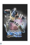 Batman: Japanese Poster with a Robotic Suit Mechanical Batman Prints
