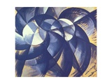 Everything Moves, 1913 Giclée-trykk av Giacomo Balla