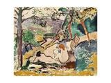 Pastoral, 1905 Giclée-trykk av Henri Matisse