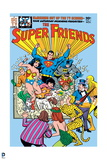 Justice League: the Super Friends No 1 (Color) Posters