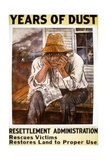 'Years of Dust', US Government Poster Giclee Print by Ben Shahn