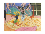 Still Life with 'Dance', 1909 Giclee Print by Henri Matisse