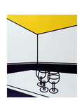 Black and White Cafe Giclee Print by Patrick Caulfield
