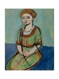 Olga Merson, 1910 Giclee Print by Henri Matisse
