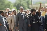 Nelson Mandela and Winnie Mandela Photographic Print by Greg English