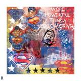 Superman: Superman - Moe Powerful than a Locomotive Posters
