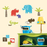 Safari Blocks Peel & Stick Wall Decals Wall Decal